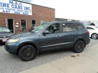 Used 2007 Hyundai Santa Fe GL 3.3L - CERTIFIED for sale in North York, ON