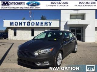 New 2017 Ford Focus Titanium Hatch for sale in Kincardine, ON