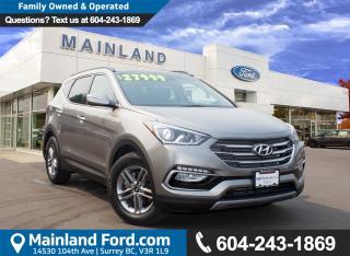 Used 2017 Hyundai Santa Fe Sport 2.4 SE LOCAL, NO ACCIDENTS for sale in Surrey, BC