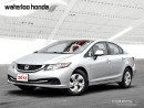 Used 2013 Honda Civic LX 160,000 km Full Honda Comprehensive Warranty Included! for sale in Waterloo, ON