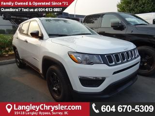 New 2018 Jeep Compass Sport SPORT 4X2 SPORT UTILITY for sale in Surrey, BC