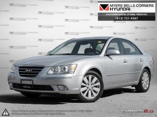 Used 2009 Hyundai Sonata LIMITED for sale in Nepean, ON