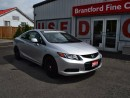 Used 2012 Honda Civic EX 2DR COUPE for sale in Brantford, ON