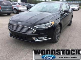 Used 2017 Ford Fusion Titanium AWD, Leather, Roof, Navigation for sale in Woodstock, ON
