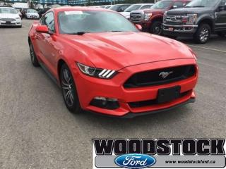 Used 2017 Ford Mustang GT 3.99 OAC 401A, 5.0L V8 Engine, Navigation Syste for sale in Woodstock, ON