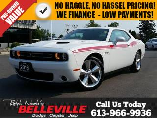 Used 2016 Dodge Challenger R/T -Hemi - Sunroof - Power Seat for sale in Belleville, ON
