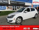 Used 2008 Saturn Astra XE  AS TRADED *UNCERTIFIED* for sale in St Catharines, ON