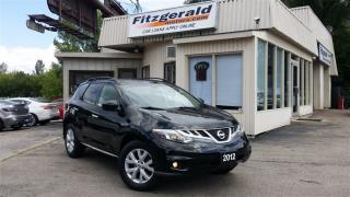 Used 2012 Nissan Murano SL (CVT) - LEATHER! BACK-UP CAM! PANO ROOF! for sale in Kitchener, ON