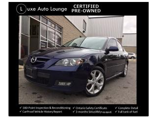 Used 2009 Mazda MAZDA3 GT - LUXURY PKG! POWER SEAT, BOSE AUDIO, LEATHER! for sale in Orleans, ON
