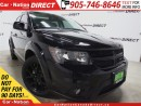Used 2015 Dodge Journey Blacktop| 8.4 TOUCH SCREEN| DUAL CLIMATE CONTROL| for sale in Burlington, ON