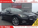 Used 2014 Infiniti Q50 ALL WHEEL DRIVE | BACK UP CAM | SUNROOF for sale in Georgetown, ON