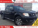 Used 2011 Nissan Frontier PRO-4X LEATHER  ROOF  CREW  ALLOYS  OFF ROAD for sale in Georgetown, ON