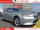 Used 2013 Lexus ES 300 h NAVI| LEATHER| ROOF| HYBRID| ONLY 27121| 1 OWNER for sale in Georgetown, ON