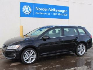 New 2017 Volkswagen Golf Sportwagen 1.8 TSI Highline 4dr All-wheel Drive 4MOTION Wagon for sale in Edmonton, AB
