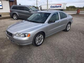 Used 2006 Volvo S60 2.5L Turbo Auto w/Snrf for sale in Hornby, ON