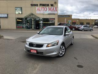 Used 2008 Honda Accord EX, SunRoof, Alloy Rims, Certified for sale in North York, ON