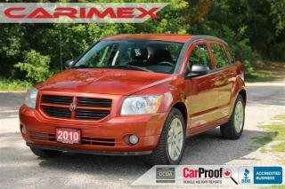 Used 2010 Dodge Caliber SXT AC | Cruise Control | pPower Windows for sale in Waterloo, ON