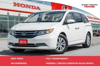 Used 2016 Honda Odyssey EX-L RES (AT) for sale in Whitby, ON