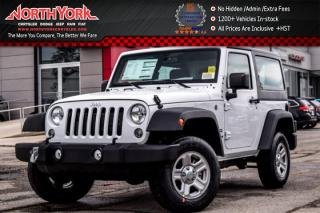 New 2017 Jeep Wrangler New Car Sport |4x4|HardTop|AC|TractionCtrl|ABS|GREAT DEAL! for sale in Thornhill, ON