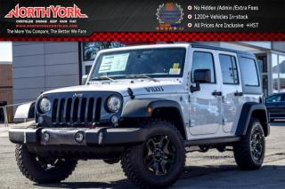 New 2017 Jeep Wrangler Unlimited New Car Willy's Wheeler|4x4|Manual|LED,DualTopPkgs|Alpine for sale in Thornhill, ON