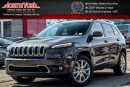 Used 2016 Jeep Cherokee Limited|4x4|LuxuryPkg|Pano_Sunroof|Nav|HeatedFrSeats|18