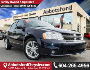 Used 2012 Dodge Avenger SXT # 2 VALUE RANK IN BC for sale in Abbotsford, BC