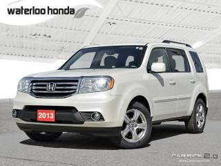Used 2013 Honda Pilot EX Special of the Week! Back Up Camera, AWD, Heated Seats and more! for sale in Waterloo, ON
