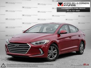 Used 2017 Hyundai Elantra GL Sedan for sale in Nepean, ON