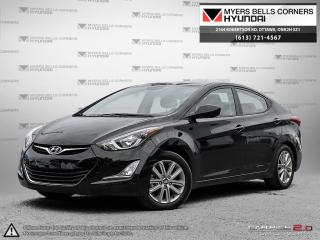 Used 2016 Hyundai Elantra SE 6AT for sale in Nepean, ON