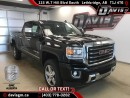 New 2017 GMC Sierra 2500 HD SLT-6.0L V8, Heated Leather, Power Sunroof, Rear Vision Camera for sale in Lethbridge, AB