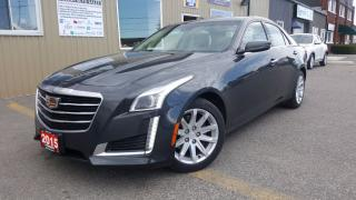 Used 2015 Cadillac CTS Luxury AWD-V6-NAVIGATION-SUNROOF-LEATHER- for sale in Tilbury, ON