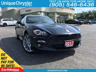Used 2017 Fiat 124 Spider Lusso | WE WANT YOUR TRADE | OPEN SUNDAYS | for sale in Burlington, ON