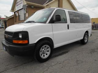 Used 2012 Chevrolet Express 1500 LS ALL WHEEL DRIVE 8Passenger 5.3L ONLY 90,000KMs for sale in Etobicoke, ON