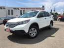 Used 2012 Honda CR-V LX - Rea rcamera - Bluetooth for sale in Mississauga, ON