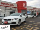 Used 2014 Honda Civic Sedan LX, amazing mileage, original roadsport car for sale in Scarborough, ON