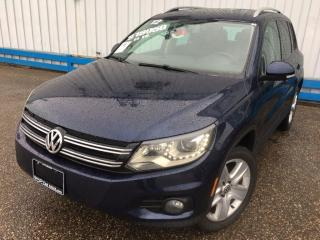 Used 2012 Volkswagen Tiguan AWD *LEATHER-SUNROOF* for sale in Kitchener, ON