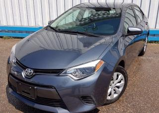 Used 2015 Toyota Corolla LE *HEATED SEATS* for sale in Kitchener, ON