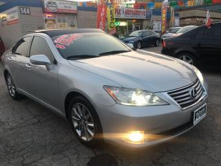 Used 2011 Lexus ES 350 w/NAV_Panoramic Sunroof_Backup Cam for sale in Oakville, ON