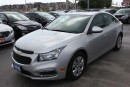 Used 2015 Chevrolet Cruze 1LT  Bluetooth Sunroof Backup Cam for sale in Brampton, ON