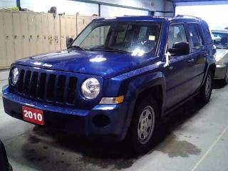 Used 2010 Jeep Patriot NORTH, AUTO, Accident Free, 4X4 for sale in North York, ON