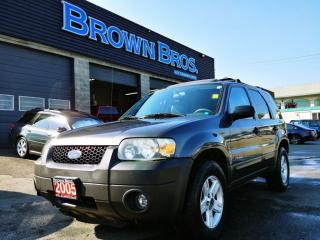 Used 2005 Ford Escape HYBRID, LOCAL, WELL EQUIPPED for sale in Surrey, BC