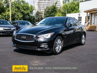 Used 2014 Infiniti Q50 AWD NAVIGATION PACKAGE for sale in Ottawa, ON