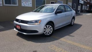 Used 2013 Volkswagen Jetta Comfortline-OFF LEASE-HEATED SEATS-FACTORY WARRANT for sale in Tilbury, ON