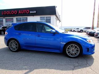 Used 2013 Subaru WRX STI SPORT-TECH NAVIGATION CAMERA CERTIFIED WARR for sale in Milton, ON