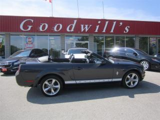 Used 2007 Ford Mustang CONVERTIBLE! 5-SPEED! LEATHER INTERIOR! for sale in Aylmer, ON