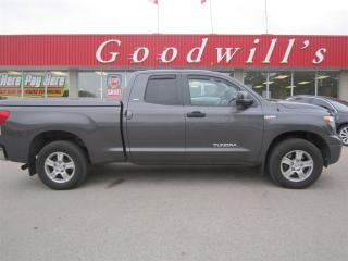 Used 2011 Toyota Tundra SR5! DOUBLE CAB PICKUP! HEATED LEATHER SEATS! for sale in Aylmer, ON