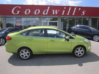 Used 2011 Ford Fiesta SEL! HEATED LEATHER SEATS! BLUETOOTH! for sale in Aylmer, ON