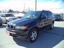 Used 2002 BMW X5 LEATHER SUNROOF LOADED for sale in Gormley, ON