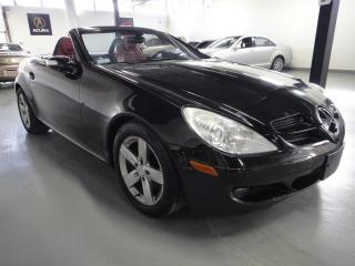 Used 2007 Mercedes-Benz SLK280 SUMMER CONVERTIBLE-HEATED RED LEATHER,ALL POWER for sale in North York, ON