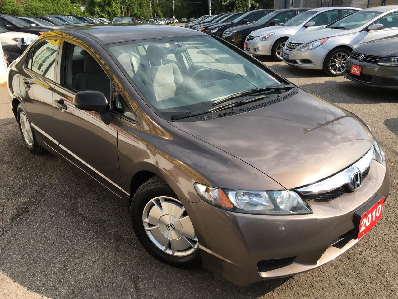 2010 Honda Civic DX-G/AUTO/ALLOYS/CHEAP ON GAS/DRIVES LIKE NEW